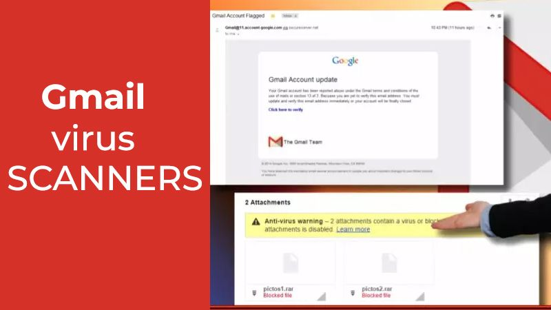 Gmail Virus Scanners Are Temporarily Unavailable