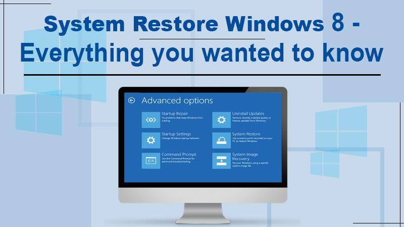 system restore windows 8